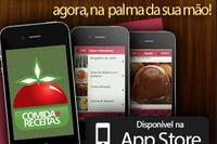 App do comida e receitas