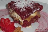 Cake red velvet recheado