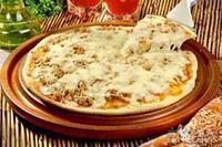 Pizza de atum e mussarela
