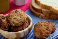 Cookies de pão integral Wickbold