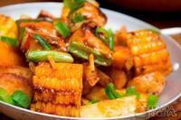 Espigas de milho temperado (festa junina)