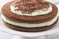 Naked cake de chocomenta