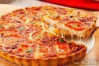 Torta pizza delícia