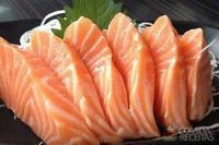 Sashimi de salmão especial