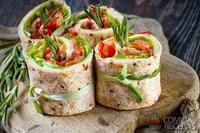 Sushi de pão especial