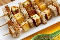 Aperitivo de queijo coalho Wickbold