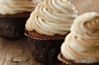 Cupcake de café e canela