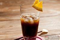 Drink com café e gim