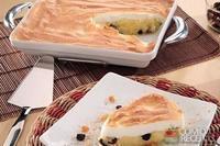 Torta de arroz com merengue