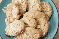 Biscoito de natal com amêndoas