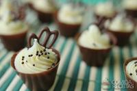 Copinho de chocolate trufado de maracujá