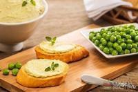 Pasta de ervilha com ricota especial