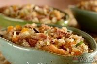 7 cereais com sardinha, damasco e castanha