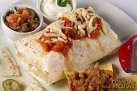 Burrito com feijão