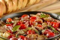 Sardinha com alho e tomate