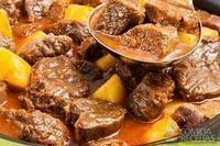 Ensopado de carne especial