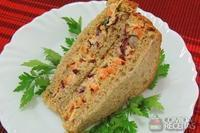 Sanduíche de pão integral com salpicão