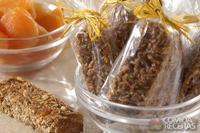 Barrinha de soja e cereal