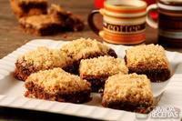 Brownie de café com paçoca