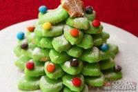 Árvore de biscoito de natal