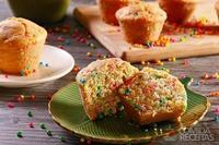 Muffin colorido