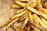 Batata frita com sal de ervas