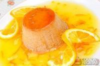 Pudim de laranja kinkan