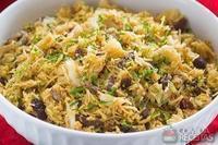 Salada crocante de bacalhau especial