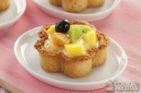 Tartalete de zabaione e frutas