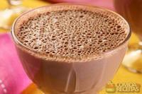 Flan de chocolate zero lactose