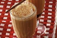 Shake de café com chocolate