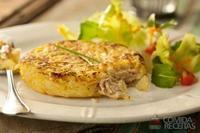 Batata doce rosti com patê de atum light