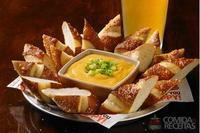 Beer cheese and pretzel