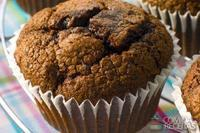 Muffin low carb de chocolate