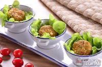Rosti de legumes e pão integral