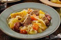 Cozido de carne com legumes especial