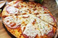 Pizza de liquidificador especial