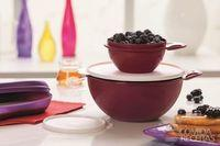 Panqueca de amora e blueberry