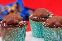 Cupcake de tortuguita