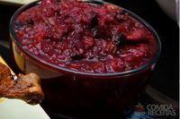 Geléia de frutas vermelhas