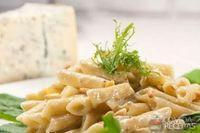 Penne ao molho de blue cheese
