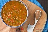 Lentilha à salsaretti