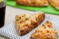 Nachos de pão integral