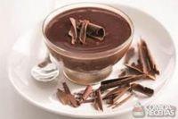 Mousse de chocolate tentação