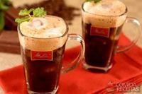 Café gelado com hortelã