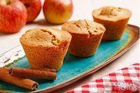 Muffin de maçã com canela sem glúten