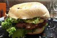 Hambúrguer com queijo especial