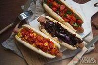 Hot dog vegano