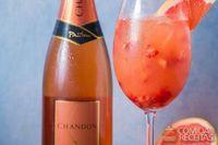 Chandon pink mimosa