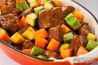 Ensopado de costela com ragu de legumes